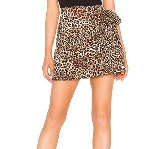 Revolve About Us Cheetah Skirt